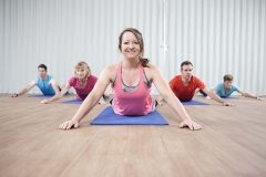 Waitrose Weekend - Pilates Instructor Claire Willet. Photographs by Richard Cannon